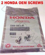 Genuine OEM Honda Disc Brake Rotor Screw Fits All Honda-Acura 1986-2016 2 Pack