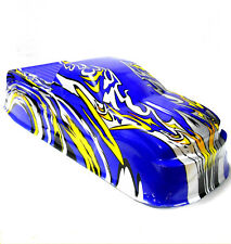 08035 88008 RC 1/10 Scale Monster Truck Body Shell Cover HSP Navy Blue Cut