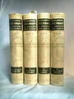 Gotz Krafft 4 Volumes Edward STILGEBAUER 1ST EDITION Berlin 1905 Verlag von Ric