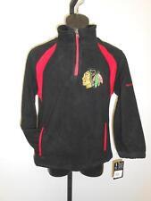 NEW-MENDED Chicago Blackhawks YOUTH 10-12 Medium M Reebok Jacket