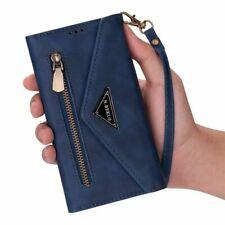 Wallet Case F iPhone 12 11 Pro Max 8 7 6 Plus Magnetic Flip Leather Zipper Cover