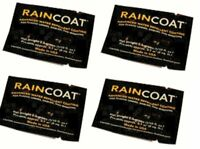Water Repellent Coating Wipes by MotoSolutions 4 Pack