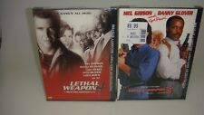 LOT OF 2 DVDS-LETHAL WEAPON 3 AND LETHAL WEAPON 4-SEALED --NEW--