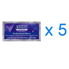 Crest 3D White Professional Whitening Effects Whitestrips (5 pouches/10 strips)