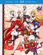 High School DxD New: The Series (Blu-ray/DVD, 2014, 4-Disc Set) New!