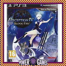 Deception IV Blood Ties Ps3 PlayStation 3