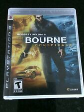 Bourne Conspiracy PS 3 Sony PlayStation 3 Complete Game Robert Ludlum Games Play