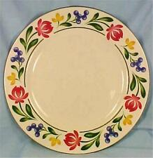 Dorchester Dinner Plate Farberware 388 Pink Yellow Flowers