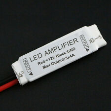 Mini Amplificador para Tiras Led RGB 5050 3528 144w Amplifier