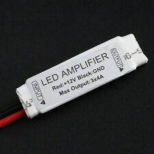 Mini Amplificador para Tiras Led RGB 5050 3528 144w Amplifier