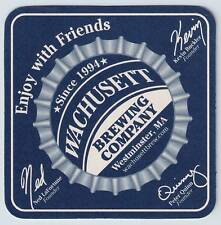 20 Wachusett Brewing  Enjoy With Friends Beer Coasters