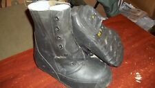mickey mouse boots black unused 7 W military NO valve