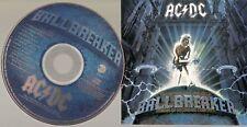 "AC/DC ""Ballbreaker"" Rare Stamped US Promo CD"