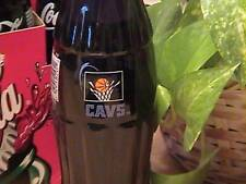Cleveland Cavaliers - Gund Arena First Game coke bottle