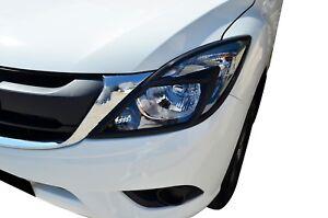 Black Head Light Surrounding Garnish Cover for Mazda BT-50 2012-20 UP UR