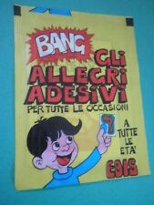 Bustina Figurine Stickers BANG Packet Tüten Pochette Rara EDIS SD/
