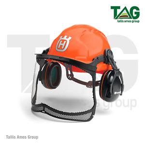 Genuine Husqvarna Classic Foresty Helmet Set - 580754301