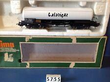 (S755) Wagon citerne Calorigaz  Lima, ech: Ho en boite jouef