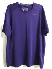 mens nike pro combat fitted shirt xl