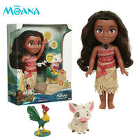 Disney Singing Moana & Friends Actions Figures Doll Light & Movie Music Kids Toy