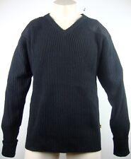 ALPHA INDUSTRIES Pullover Herren Strickpullover Black Wolle Gr.M NEU mit ETIKETT
