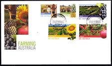 Australia 2012 Agriculture-Farming Complete Set Fdc - Unaddressed - Mint