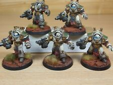5 FORGEWORLD DEATH GUARD GRAVE WARDENS VERY WELL PAINTED (263)
