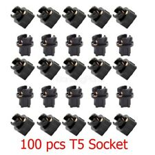 100Pcs T5 74 Wedge Socket For Tachometer Instrument Cluster Base Light