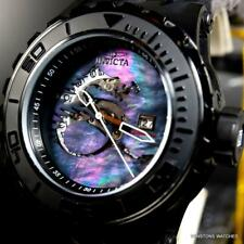 Invicta Subaqua Specialty Black Mother Of Pearl Dragon Automatic 52mm Watch New