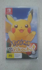 Pokemon Lets Go! Pikachu Switch Game (NEW &SEALED)
