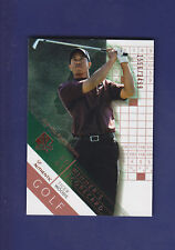 Tiger Woods 2003 UD Golf SP Authentic #68 Winner's Scorecard #1556/3499