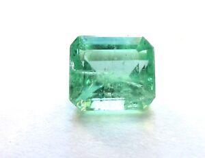 2.08 Karat Poliert Natürliches Grün Beryll Smaragd