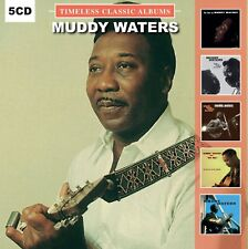 Muddy Waters TIMELESS CLASSIC ALBUMS Best Of AT NEWPORT 1960 New Sealed 5 CD