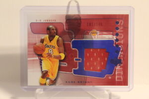 2003-04 Upper Deck Dimensions 3D KOBE BRYANT Jersey Patch Red /249 🔥🔥🔥