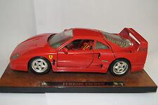 Bburago BURAGO voiture miniature 1:18 Ferrari f40 1987 * en OVP * 3732