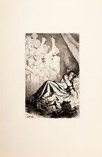 Arthur Kampf /Radierung aus der Mappe/Shakespeare /Richard III