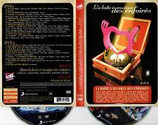2 DVD - RESTOS DU COEUR : LA BOITE A MUSIQUE DES ENFOIRES - 2013