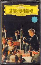 "HERBERT VON KARAJAN "" OPERA-INTERMEZZI "" MUSICASSETTA SIGILLATA"
