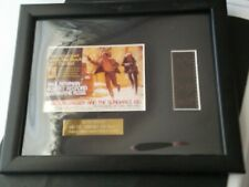 Butch Cassidy And The Sundance Kid Series 2 Framed Film Cell w/ Coa