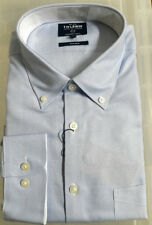 NEW T M Lewin Non Iron Oxford Shirt, Royal Blue - XL