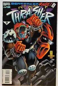 Night Thrasher #20 (Mar 1995, Marvel) NM