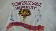 TENNESSEE STATE UNIVERSITY INTRAMURALS SPORTS GRAY XL T-SHIRT MADE IN USA