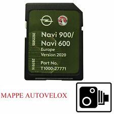 SD MAPPE OPEL 2020-2021 + AUTOVELOX CHEVROLET NAVI600-900 MOKKA