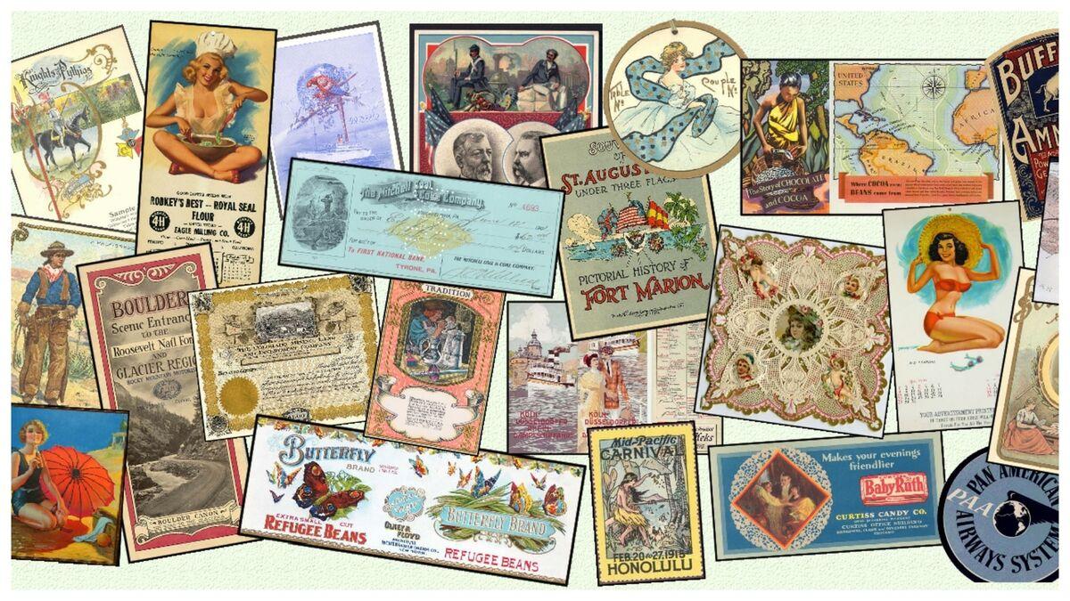 Vintage Paper Collectibles