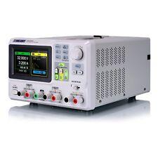 Siglent SPD3303X 2x 0..32V/0..3A + 1x(2V5 3V3 5V) Programmierbares Labornetzteil