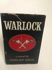 New listing Warlock 1st edition 2nd printing Oakley Hall