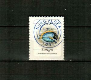 TONGA Scott's 574 ( 1v ) Fish F/VF Used ( 1984 ) #1