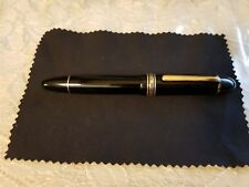 Montblanc 149 silver rings celluloid 1950s