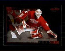 1995-96 Score Black Ice #219 Mike Vernon (ref 97572)