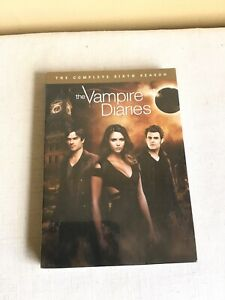 2015 New Factory Sealed The Vampire Diaries The Complete Sixth Season DVD